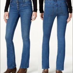 Free People Kaye Slim Flare Jeans 25